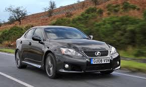 lexus v8 van lexus is f review 2008 2012 parkers