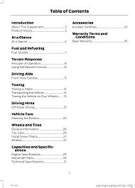 ford f150 2014 12 g raptor supplement manual