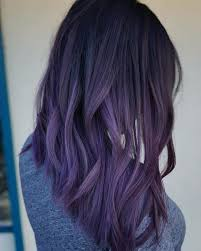weave hairstyles with purple tips 35 bold and provocative dark purple hair color ideas