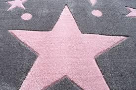 tapis de chambre enfant tapis enfants rugs étoiles gris 80x150 cm amazon fr