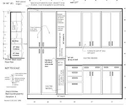 kitchen fancy kitchen elevation dimensions elev a kitchen