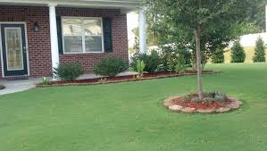 Front Porch Landscaping Ideas by Landscaping Ideas For Front Yard Ranch House With A Front Porch
