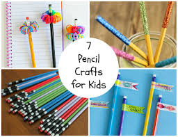 7 pencil crafts for the kids