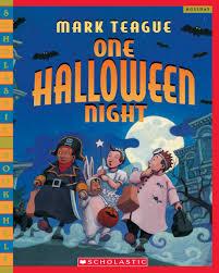 childrens halloween books one halloween night turtleback u0026 library binding edition