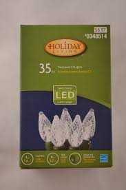 new living indoor outdoor led c3 cool white lights 35 count
