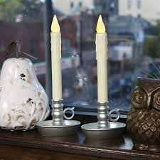 lights flameless candles window candles ivory drip
