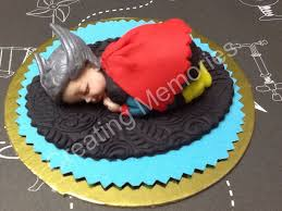 superhero baby cake topper ready to be the center of attention