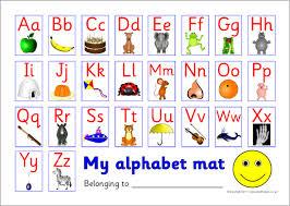 Printable Alphabet Mat   ks1 alphabet strips and tabletop alphabet lines sparklebox
