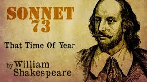 william shakespeare sonnet 73 that time of year poetry reading