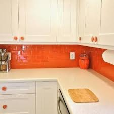 Tiles In Kitchen Ideas The 25 Best Orange Kitchen Ideas On Pinterest Orange Kitchen