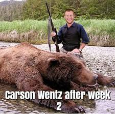 Patient Bear Meme - best memes of carson wentz the eagles beating jay cutler the