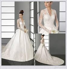 wedding dresses buy online discount sheer sleeves wedding dresses 2015 kate middleton