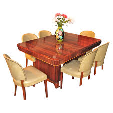 mahogany dining room table art deco dining room furniture for sale tables and chairs art