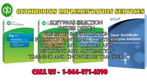 quickbooks implementation services intuit qb pro premier
