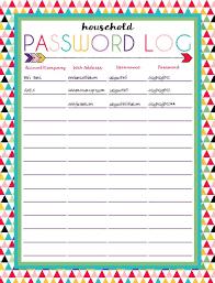 Free Printable Spreadsheet Printable Password Log Sheet Username And Password Spreadsheet