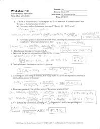 specific heat worksheets with answers worksheets