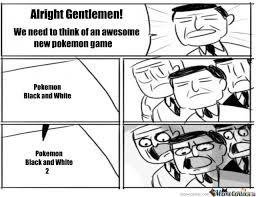 Black And White Memes - pokemon black and white by memecenter meme center