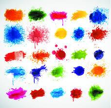 multi color paint splash free vector download 24 681 free vector