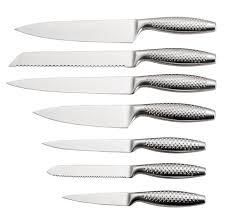 dishwasher safe kitchen knives a3305 stainless steel set of 6 dishwasher safe dotted handle table