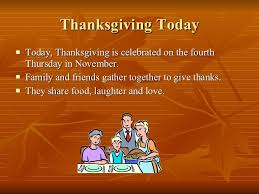 Is Thanksgiving Today The Thanksgiving