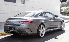 mercedes benz s65 amg coupe with staggered 22 s class