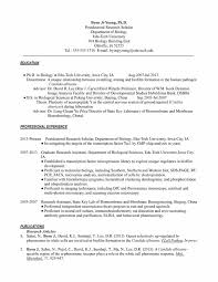 Best Resume Format With Example by Biology Resume Template Resume For Your Job Application