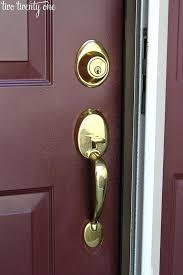 Exterior Door Locksets Front Door Locksets And Handles Hfer