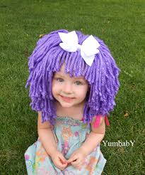 purple wig halloween costume for girls toddler costumes