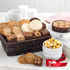 mrs fields brownies mrs fields and delight basket care packages and gifts