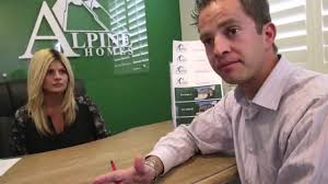 new home builders alpine homes youtube