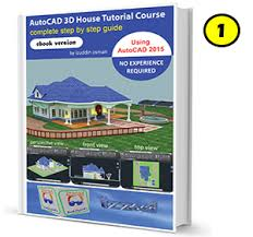 autocad 3d house modeling tutorial course using autocad 2015