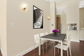 Modern Dining Room With Hardwood Floors  Wall Sconce In New York - Wall sconces for dining room