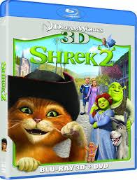 shrek 3d 3d blu ray 2d blu ray dvd blu ray