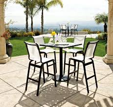 High Top Patio Dining Set Small Outdoor Bar Set Awesome High Top Outdoor Dining Set Top