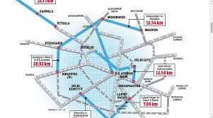 Blue Line Delhi Metro Map by Delhi Metro U0027s Ambitious Fourth Phase Will Take Trains To City U0027s