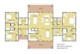 one story floor plans with two master suites one story house plans with two master bedrooms level