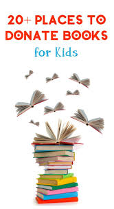 21 places to donate books for children