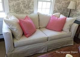 custom slipcovers for sofas canvas slipcovers custom slipcover sofa white canvas covers