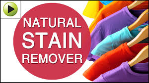 homemade stain remover for clothes youtube