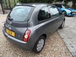nissan micra xe petrol nissan micra 1 2 s 3 door hatchback 1 2 petrol 2005 grey met full