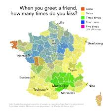 France Map Outline by French Cheek Kissing Etiquette Guide The Hostel