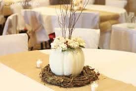 fall wedding centerpieces white pumpkins whimsical fall wedding