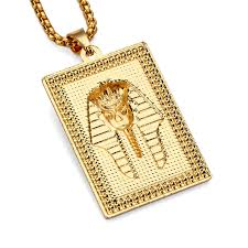 aliexpress buy nyuk new arrival men ring gold hip nyuk new arrival gold square ancient pharaoh king men