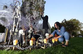 stamford halloween house for fun not fright stamfordadvocate