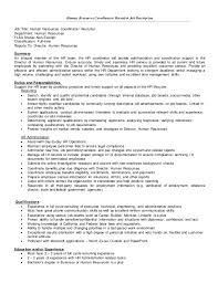 Us It Recruiter Resume Sample Recruiter Job Description Text Based Job Descriptions Simply Fall