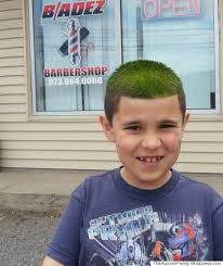 8 yr old boy haircut barber helps 8 year old with autism learn to love haircuts in the