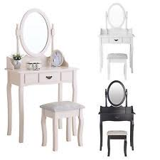 Makeup Table Ivory Vanities And Makeup Tables Ebay