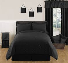 black comforter sets