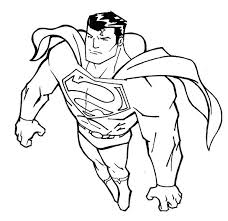 30 superman images superman colouring pages