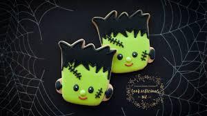 Monster Halloween Cookies by Halloween Cookies Frankenstein U0027s Monster Cookies How To Youtube